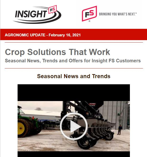 Agronomic Update - Feb. 2021