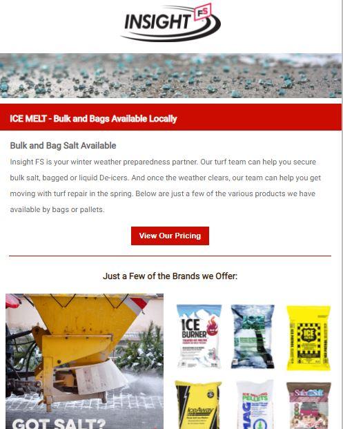 Bulk and Bag Salt Available